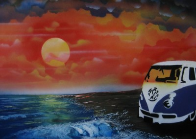 VW beaching